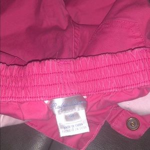 Ralph Lauren pink toddler jeans. Worn once 6 mos